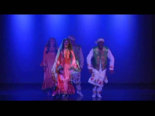 Khaled Seif and Monica Lourdes in Nubian Dance