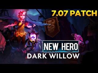 Dota 2 - 7.07 Dueling Fates Patch - Dark Willow (New Hero) Showcase