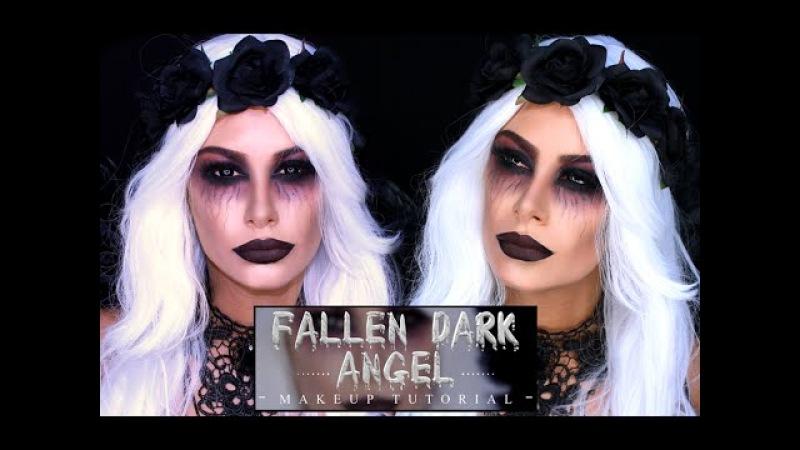 Fallen Dark Angel - Halloween tutorial
