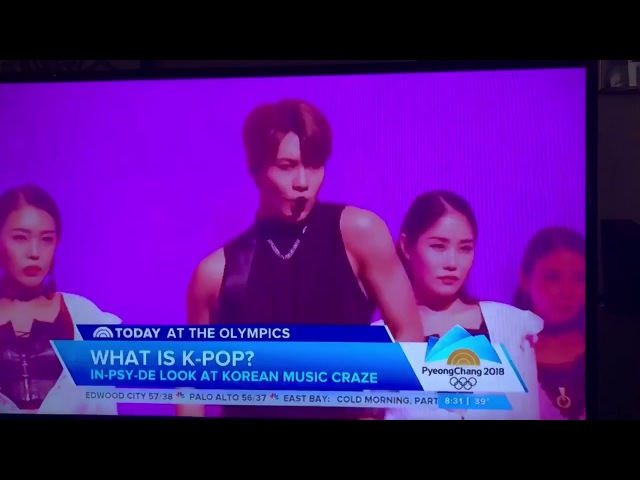 """[FULL] 180221 """"What is K-POP"""" from the Today Show ft Taemin"""