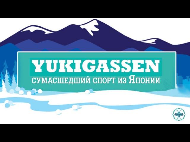 Юкигассен / Yukigassen - сумасшедший спорт из Японии