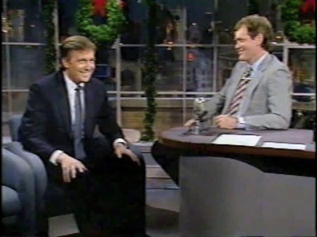 Donald Trump on Late Night, 1986-87