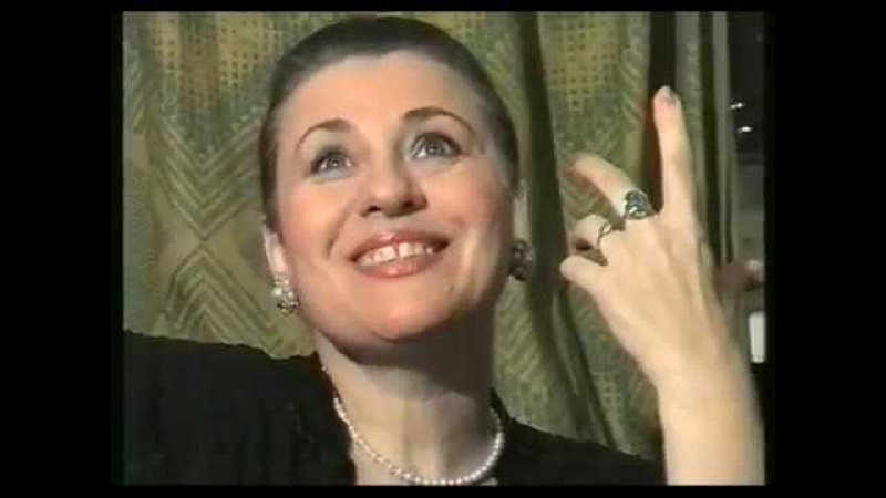 Интервью Валентины Толкуновой после концертов в Смоленске (1995 год)