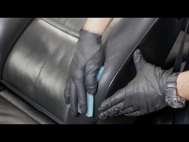 Colourlock Leather Fresh - Farging av sidevange på Mercedes E320