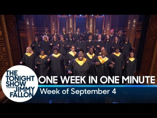One Week in One Minute: Week of September 4