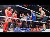 RAW Team vs Smackdown Team Full Match Highlights Survivor Series 2017
