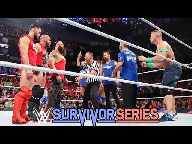 RAW Team vs Smackdown Team Full Match Highlights |Survivor Series 2017|