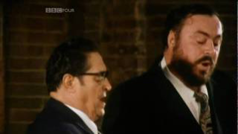 Panis Angelicus Pavarotti Father Son Duet