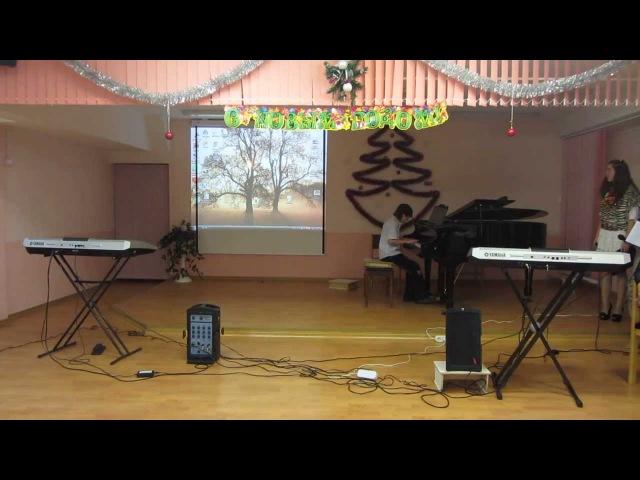 Глупые снежинки (Ласковый Май) на пианино (подбор на слух)