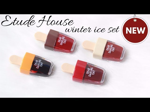 BIYW Review Chapter 41 ETUDE HOUSE WINTER ICE DEAR DARLING WATER GEL TINT SWATCH REVIEW