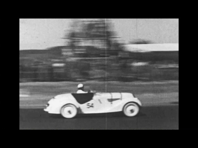 Eerste races op circuit van Zandvoort, 3 juni 1939