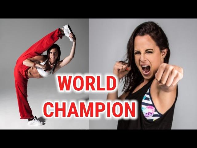 Martial Arts World Champion CHLOE BRUCE