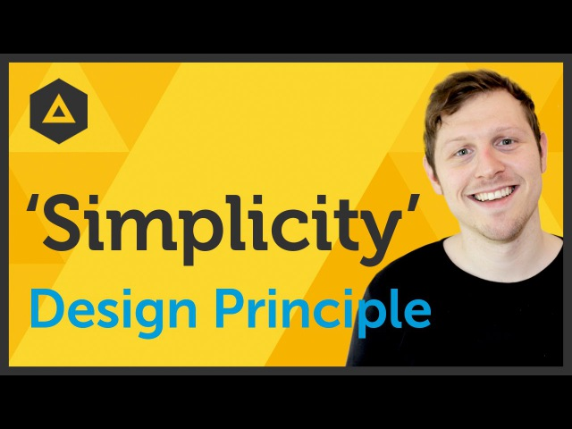 'Simplicity' Design principle of Graphic Design Ep1545 [Beginners guide to Graphic Design]
