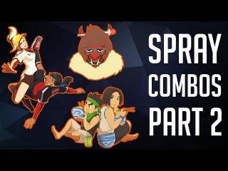 The Best Spray Combos #2 [Overwatch]