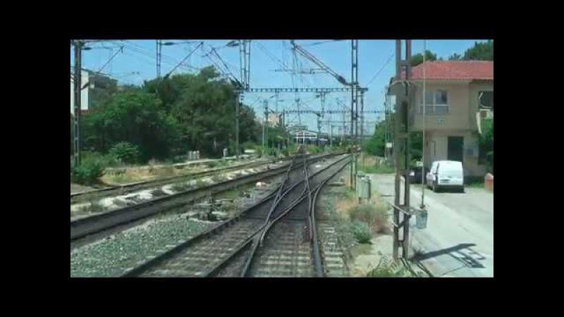 Cab ride Siemens Desiro ΕMU from Thessaloniki to Larissa