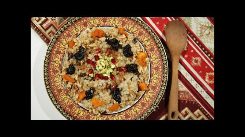 Anoush Apoor Recipe - Armenian Cuisine - Heghineh Cooking Show