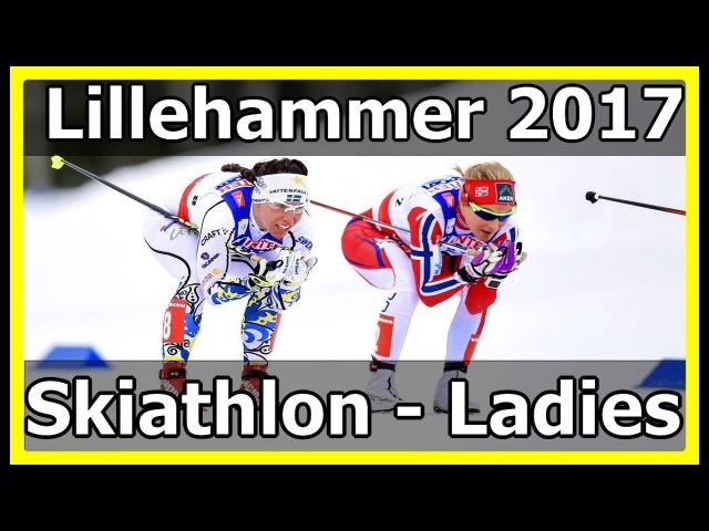 Лыжные гонки: СКИАТЛОН [женщины] Кубок Мира Лиллехаммер, Новегия 03.12.2012 Евроспорт HD