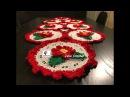 Camino de mesa navideño a crochet - Runner per tavolo all'uncinetto 🎅🎄 II Parte | JEKE CROCHET
