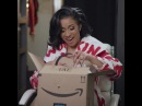 "Cardi B Official IG on Instagram: ""Washpoppin this weekend @Amazon?? ad"""