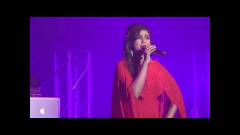 SHREYA GHOSHAL | Sun Raha Hai Na Tu | Full Song | Live Performance in the Netherlands