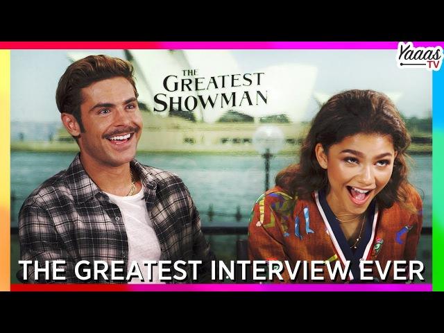 The Greatest Interview Ever Hugh Jackman Zac Efron Zendaya Keala Settle The Greatest Showman