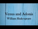 Venus and Adonis by William Shakespeare