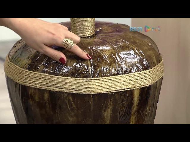 Vaso com jornal por Jose Paulo - 10032017 - Mulher.com P2