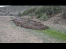 Flash Flood Fills 6 ft Culvert on Cerrososo Road 7 8 13