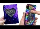 How to make Amazing VIRAL Color-Changing Iphone X Phone Case   Diy life hacks with hot glue gun