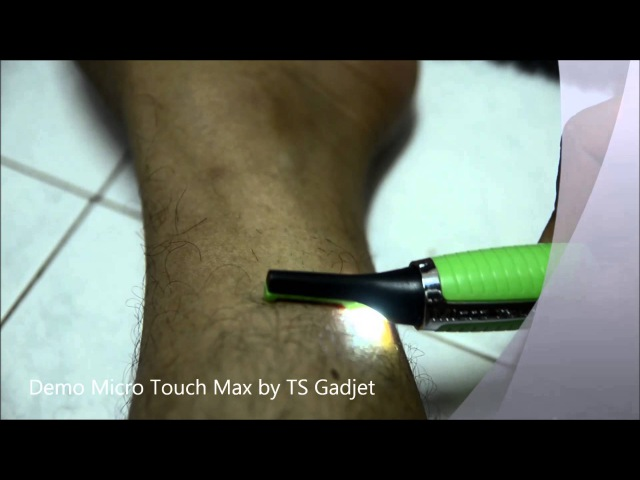 Demo Micro Touch Max by TS Gadjet