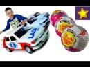 Машинки Игрушки Лада 115 Ралли Машинки против Сюрпризов Чупа Чупс Toys for kids