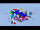Zeem Zoom - Dessin animé avec les bébés bolides de course