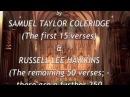 The Dark Ladie Completed by Samuel Taylor Coleridge Russell Lee Hawkins