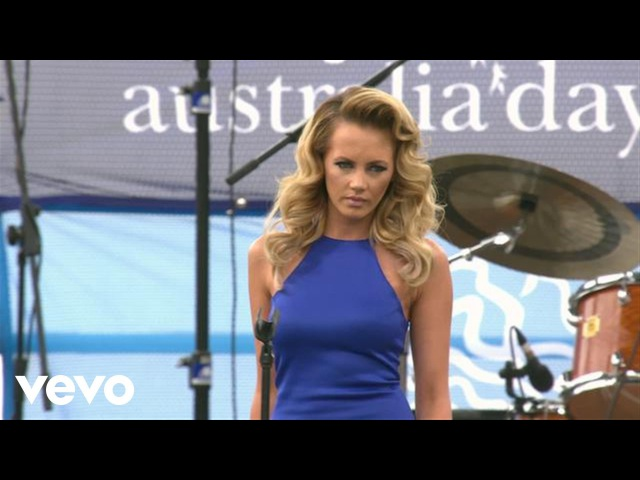 Samantha Jade - What You've Done to Me (Australia Day Sydney - Live)