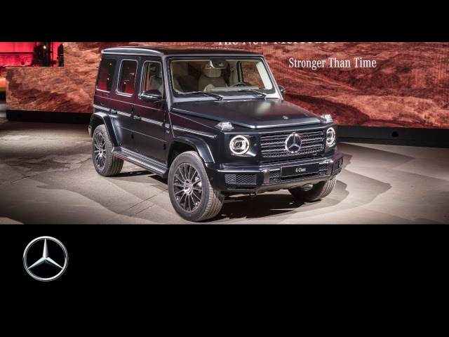 The brand-new Mercedes-Benz G-Class climbs the Centre Stage at the NAIAS 2018