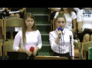 Нам дерева i рослини, песня, Костенко Аня и Шевлякова Оля 23.09.2017 ц Вифания