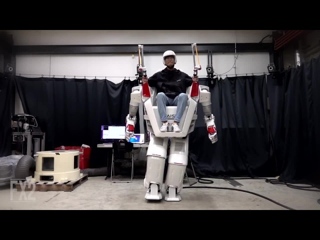The Giant Human Riding Robot