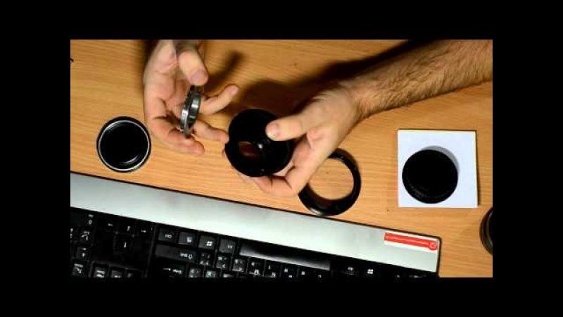 Vega 12B Вега 12Б 90mm f 2 8 Video review Adaptor Pentacon6 M42 КП6 M42 review