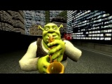 [SFM]*CRINGE ALERT* Shrek and scout sax battle!!11!!11!