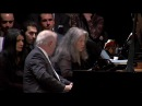 Barenboim Argerich : Mozart Sonata for Two Pianos, K.448