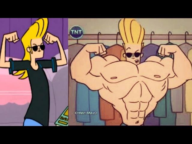 Johnny Bravo Body Transformation