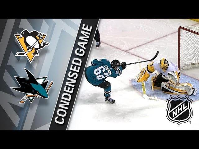 Pittsburgh Penguins@San Jose Sharks G49 25 21 3 20 01 18 1 2