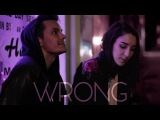 Ally Hills - Wrong Danny Padilla REMIX Official Lyric Video