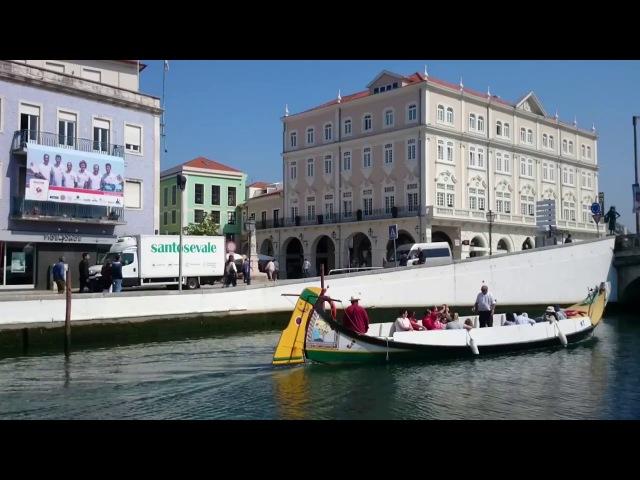 Куда поехать из Лиссабона каналы Авейру и лодки молисеируш