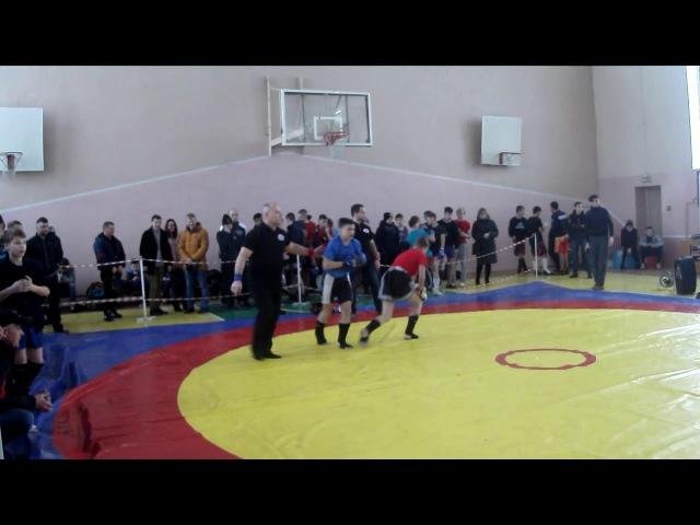 1 бой Ланьшин Кирилл , Панкратион г.Троицк 24.12.2017