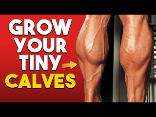 GROW Massive Calves With These 3 Exercises!