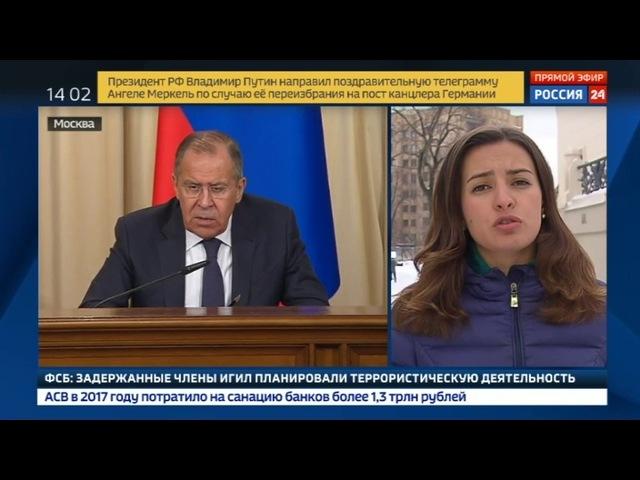 Новости на «Россия 24» • Лавров для Лондона подозрение - царица доказательств