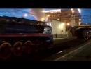 Паровоз на Белорусском вокзале