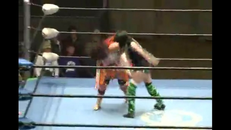 4 Kayoko Haruyama vs Aoi Kizuki Ribbonmania 2014