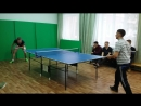 Николаев В Шагуров В 1 2 Финал Кубка Ректора по настольному теннису в рамках Универсиады Университета МИР